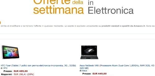 Amazon: le nuove offerte di elettronica della settimana