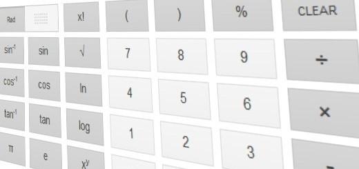 Calcolatrice su Google.com