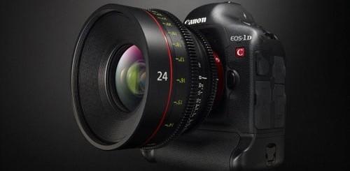 canon eos 1d c per riprese video 4k