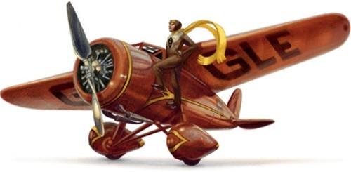 Amelia Earhart, Google doodle