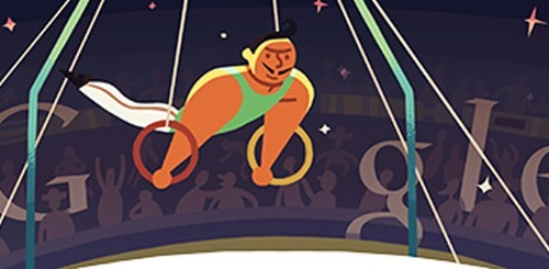 Olimpiadi di Londra 2012, doodle anelli