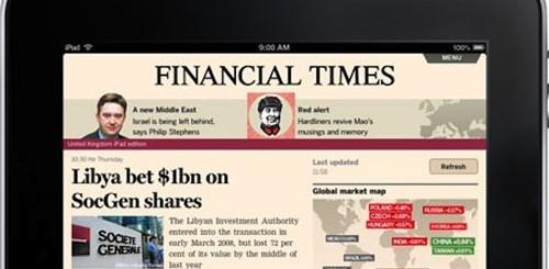 Financial Times su iPad