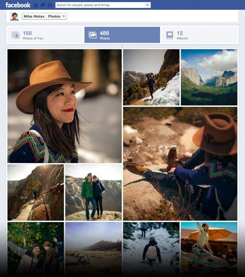 Nuova gestione delle fotografie su Facebook