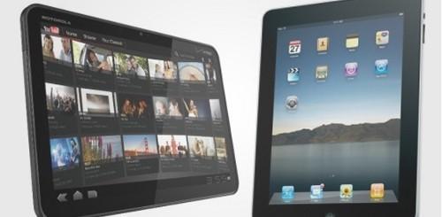 iPad Motorola Xoom