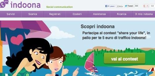 Indoona, chiamate gratis ai fissi sino a settembre