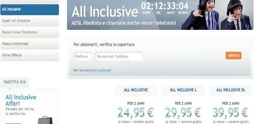 Infostrada: modem WiFi in omaggio con i piani All Inclusive