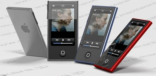 Rendering iPod Nano