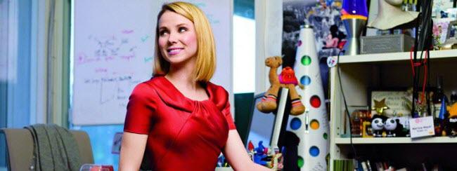 Marissa Mayer, CEO di Yahoo, in una foto di quando era a Google