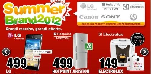 Mediaworld Summer Brand: ogni settimana grandi offerte su molti prodotti di elettronica