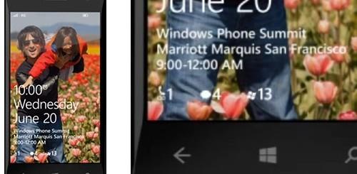 Windows Phone 8, notifiche sulla Lock Screen