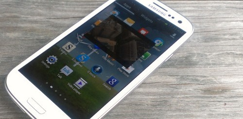 samsung galaxy s3 pop up play