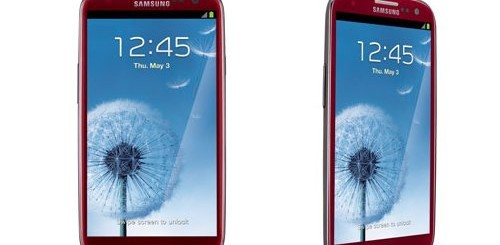 samsung galaxy s3 rosso