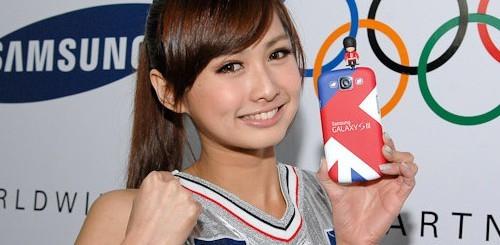 Samsung Galaxy S3, Olimpia di Londra 2012