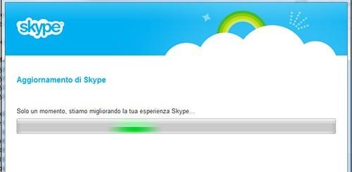 Skype, aggiornamento