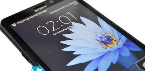 Sony Xperia LT30p Mint