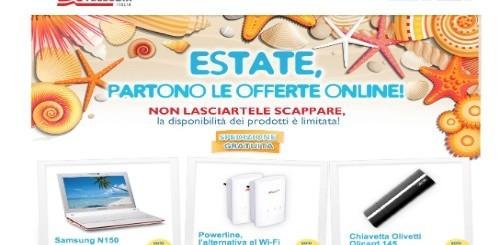 Telecom Italia: al via le offerte estive con sconti su netbook e tablet pc