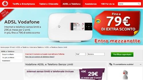 Vodafone: 79 euro di extra sconto per chi si abbonerà ad ...