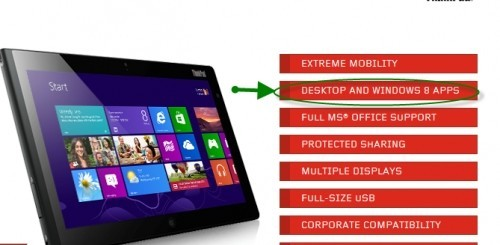 Windows 8 apps - Lenovo ThinkPad Tablet 2