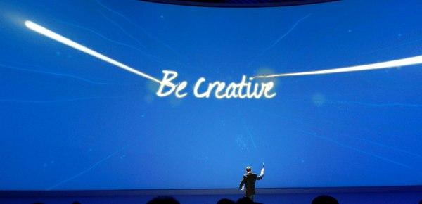 Samsung promette creatività