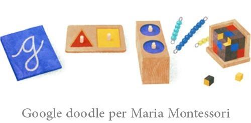 Maria Montessori, Google doodle