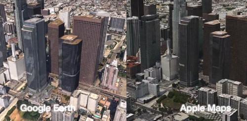 Mappe di iOS 6 vs. Google Maps