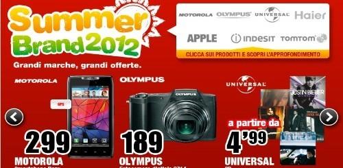 Mediaworld Summer Brand 2012: le nuove offerte di questa settimana