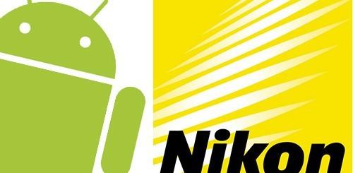 Nikon Coolpix S800, fotocamera Android