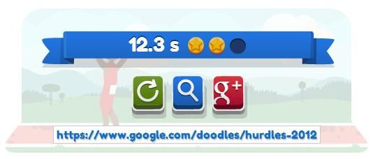 Corsa ad ostacoli sul doodle di Google