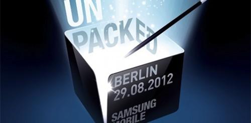 Samsung Galaxy Note 2, Unpacked
