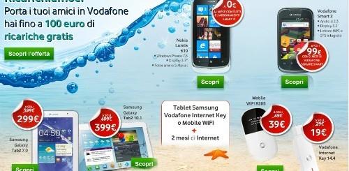 Vodafone: al via le nuove promozioni estive