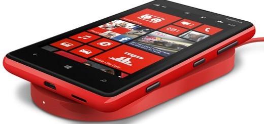 Nokia Lumia 920 con ricarica wireless