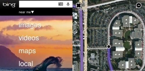 Bing Maps per iPhone