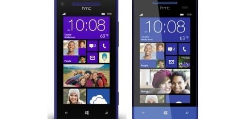 HTC Windows Phone 8X e 8S
