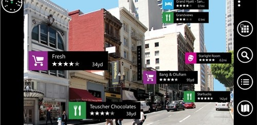 Nokia City Lens per Windows Phone 8
