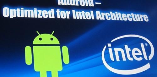 Android 4.1 Jelly Bean su Intel Medfield