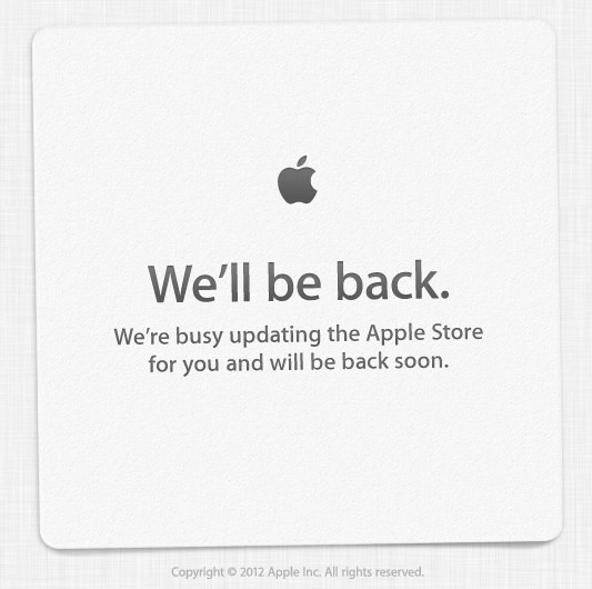 Apple Store italiano chiuso in attesa dell'iPhone 5