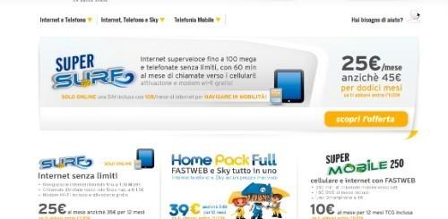 Fastweb: la nuova offerta internet per la clientela residenziale