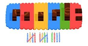 Doodle per i 14 anni di Google