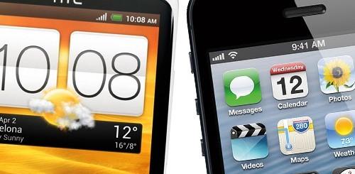 iPhone 5 vs. HTC One X
