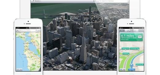 iOS 6 Mappe
