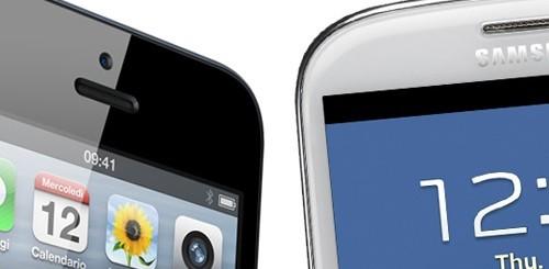 iPhone 5 Samsung Galaxy S3