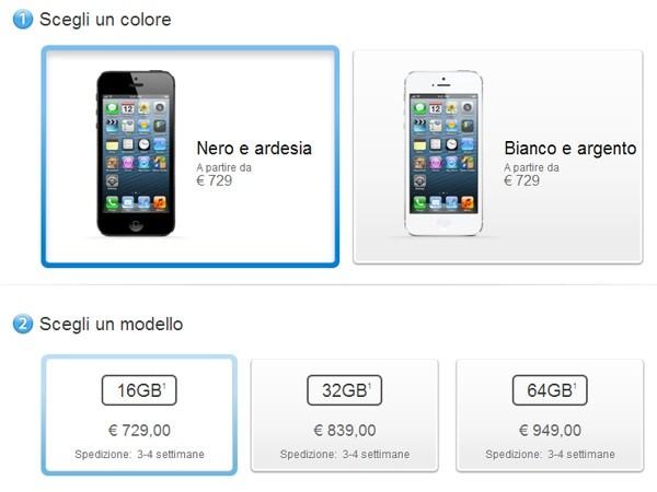 iPhone 5, tempi di attesa