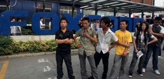 Lavoratori della Foxconn