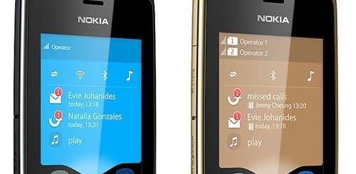 Nokia Asha 308 e Nokia Asha 309