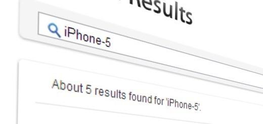 iPhone 5 sul sito Apple.com