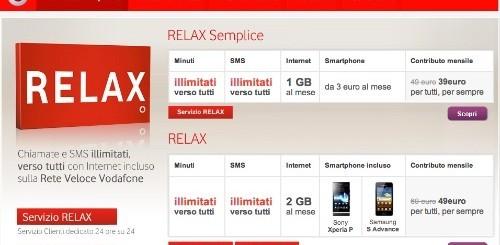 Vodafone Realx: la nuova offerta di Vodafone per comunicare senza pensieri