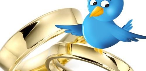 Matrimonio su Twitter