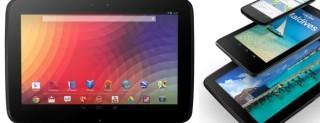 Google Nexus 4, Nexus 7 e Nexus 10