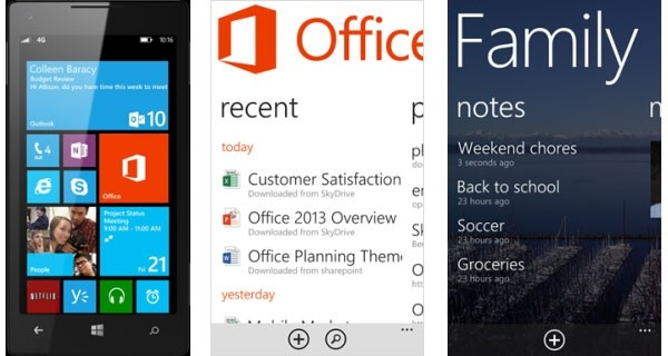 Office per Windows Phone 8