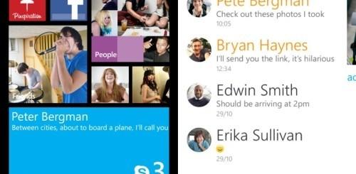 Skype per Windows Phone 8